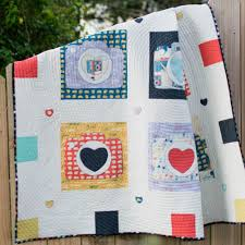 Make the Say Cheese Quilt! {free pattern} — SewCanShe | Free ... & Sandwich, quilt, and bind as desired. :) Adamdwight.com