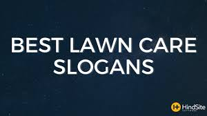 Funny To Effective The Best Lawn Care Slogans