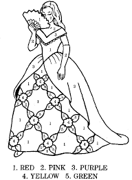 Princess Coloring By Number Games The Sun Games Site Flash Games