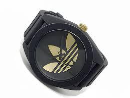aaa net shop rakuten global market adidas adidas santiago watch adidas adidas santiago watch adh2712 black x gold men
