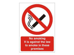 No Smoking Signage No Smoking Signs Ebay