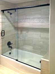 bypass shower door. Installing Sliding Shower Doors Of Glass Bypass Door . Y