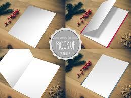 Greeting Card Mockup Psd Templates By Cursive Q Designs Dribbble