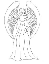Small Picture Angel Color Pages Guardian Angel Coloring Pages nebulosabarcom
