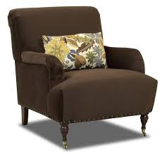 Blue And Brown Accent Chair Accent Chair With Nailhead Trim Modern Chairs Quality Interior 2017