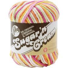 Peaches And Cream Yarn Color Chart Lily Sugar N Cream Yarn Hobbycraft