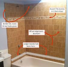 basement bathroom tiled wall shower