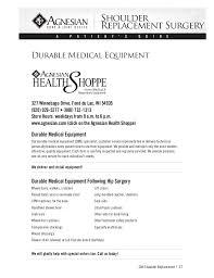 Ssm Doctors Note A Patients Guide To Shoulder Surgery St Agnes Hospital