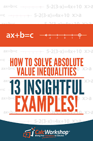 absolute value inequalities amazing how to algebra lesson which combines our knowledge of absolute