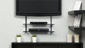 floating tv shelf glass shelves wall mount coloured floating shelf with double stand floating stand entertainment