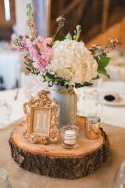 Attractive Wedding Center Table 1000 Ideas About Rustic Wedding Centerpieces  On Pinterest