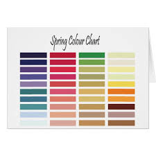 Die Spring Color Chart Spring Color Chart