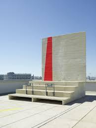 A Ciel Ouvert By Felice Varini At La Cité Radieuse In Marseille
