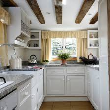 kitchensmall white modern kitchen.  Kitchensmall Small Kitchen With Exposed Beams Granite Worktops White Cabinetry Open  Shelving Plate Inside Kitchensmall White Modern Kitchen N