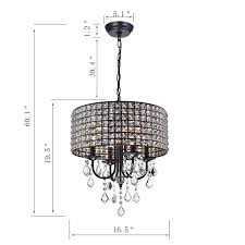 Afaura 4 Light Crystal Chandelier Albano 4 Light Crystal Chandelier In 2019 Family Room