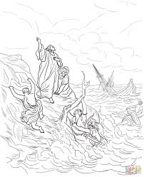 Small Picture Paul and Silas survives Earthquake coloring page Free Printable