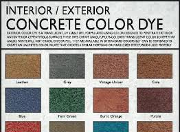 Concrete Floor Color Chart Concrete Staining Products Imneed Com Co