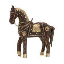Brass Horse Head Coat Rack Decorative Wood Horse Figurine Wayfair 89
