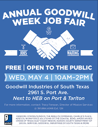 Graphic Design Jobs Corpus Christi Corpus Christi Goodwill Week Job Fair Goodwill