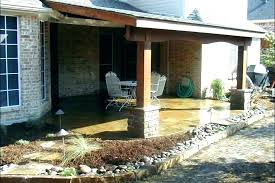 covered patio furniture cost how much is a attaching porch roof to an cover