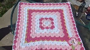 Shell Blanket Crochet Pattern