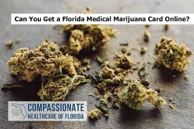 When would it make sense to get one online. Can You Get A Florida Medical Marijuana Card Online Compassionate Healthcare Of Florida