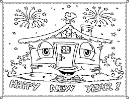 Coloring Pages ~ New Year Coloring Pages 2017 Sheets Printable For ...