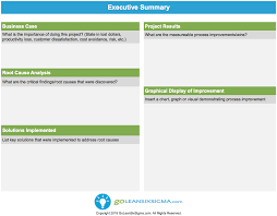 Executive Summary Management Report Example | Writing And Editing ...