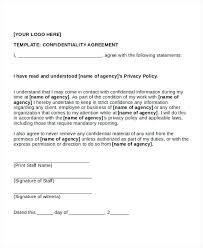 Nda Template Agreement Sample Basic Confidentiality Agreement Template And Checklist Simple