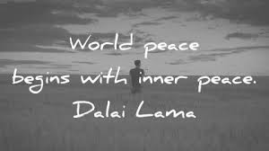 Inner Peace Quotes Cool 48 Peace Quotes That Will Inspire Unity In The World
