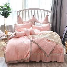 magical thinking net tassel duvet cover twin xl 3 4 5 princess quilted bedding set tassels