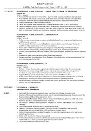 Rv Technician Resume Senior Field Service Technician Resume Samples Velvet Jobs 4