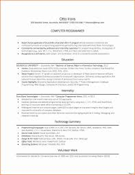 Html Resume Samples New Entry Level Resume Examples Beautiful Programmer Resume Example 41
