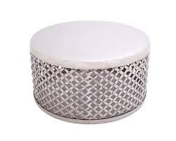 14 fresh white circle coffee table