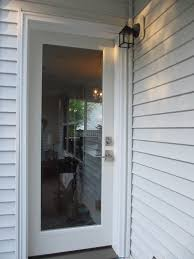back doors with full glass panel