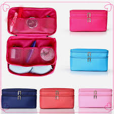 professional nice makeup bag good quality oxford cloth cosmetic beach bag free sles for travel