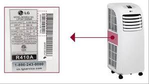 lg 8000 btu portable air conditioner. lg portable air conditioner model and serial number lg 8000 btu t