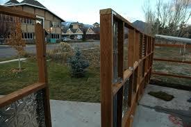Sheet Metal Fence Panels Sheet Metal Privacy Fence Corrugated Metal