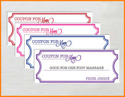 Coupon Format Template Blank Coupon Template Free 245580585055 Free Coupon Template Word