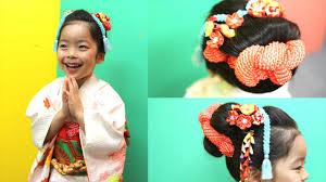七五三の日本髪を自宅で結うには長さはどのくらい必要前髪は新