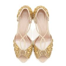 glass wedding shoes. alice gold bridal shoes designed by emmy london blush suede and mirror glass wedding
