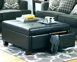 navy storage ottoman blue leather ottoman blue leather ottoman navy ottoman coffee table large size of