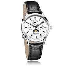 buy rotary men s multifunction moonphase leather strap watch at rotary men s multifunction moonphase leather strap watch527 4453