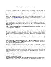 Customized Online Invitation Printing