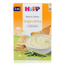 Bột ăn dặm HiPP rau củ tổng hợp 250g cho bé 6M-36M - Kids Plaza