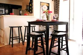 Interior: Small Space Kitchen Table Elegant For Spaces Inviting Cheap Tables  Areas Medium 10 Regarding
