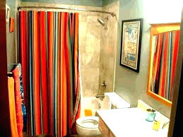 blue and brown paisley shower curtain aqua curtains dark red gold where bathrooms likable chocolate kitc