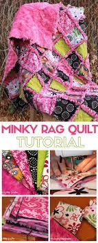 How to Make a Minky Rag Quilt - The Crafty Blog Stalker & Minky Rag Quilt | DIY | Craft Tutorial Ideas | Beginner | Easy Sew |  Handmade Adamdwight.com