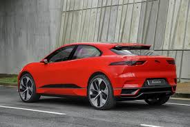 2018 jaguar red.  2018 2018 jaguar ipace u2013 red exterior rear side quarter static with jaguar red