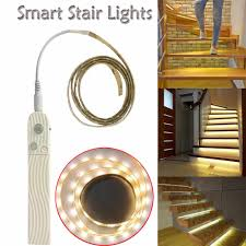 Dekor Outdoor Led Stair Light Kit Smart Stair Lights Turn On When You Walk On Them Night